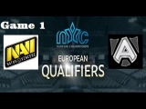 The Alliance vs NaVi | Nanyang Championships European Qualifiers