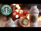 DIY Starbucks Lip Gloss - How To Make Sweet Lip Balm Coffee Cup Drink - Polymer Clay Tutorial