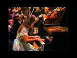 Part 1 The 11 year-old Gabriela Montero plays the Grieg Piano Concerto, 1st movement.