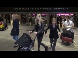 Gabriella Wilde Travels With Son Sasha To LA