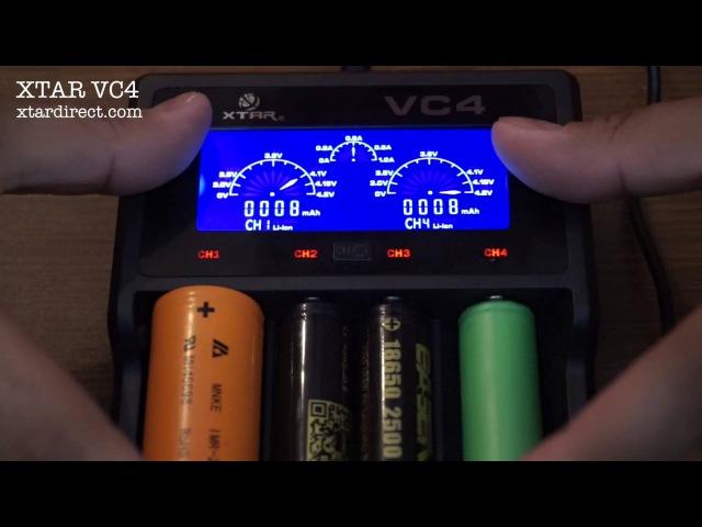 XTAR VC4 Charger обзор от Z Vaper