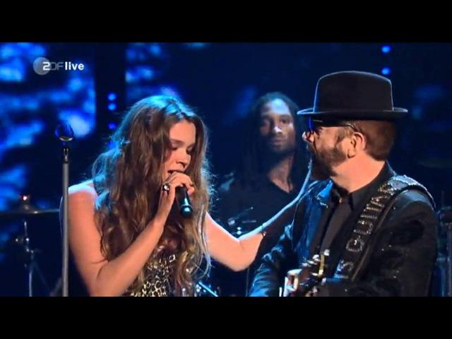 Joss Stone Dave Stewart (Wetten Dass) - Karma Here Comes The Rain Again LIVE