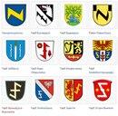 Гербы европейских городов.