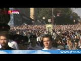 В Курской области прошел крестный ход с православной святыней, привезенной из-за рубежа. 25 сентября 2015, Пятница, 21:42