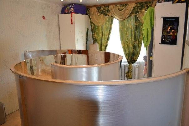 Зеркала козырева из фольги