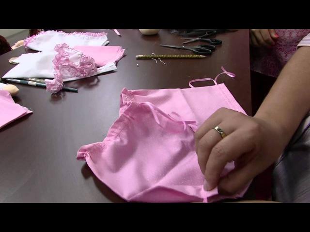 Mulher.com 06/03/2014 Mariza Paiva - Boneca grávida Parte 1