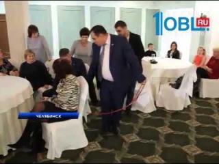 В преддверии Нового Года с козленком на ОТВ-Челябинск