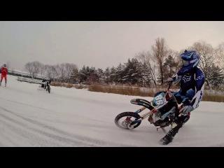 Питбайк JMC Ice Battle promo 2015 Pitbike