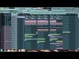 Steve Angello - Wasted Love (AN21 &amp Sebjak Remix) FL Studio Remake