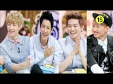 Preview Ep.131 c EXO(СуХо,Крис,ЧанЁль) и Super Junior(ЫнХёк,РёУк,Генри) - Talk Show Hello ● Hello Counselor ● Ток-шо