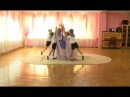 Я рисую мир танец с тканью и цветными лентами г.Саянск