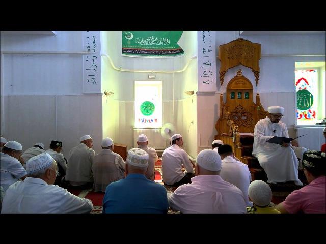 Вагаз: Побуждение к соблюдению поста, проведению ифтаров и чтение таравих намазов