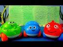 Мультик про машинки. Рисуем подводный мир. Развивающее видео для детей.