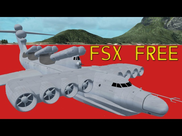 AlphaSim Lun class Ekranoplan FSX FS2004 Download HD