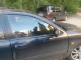 Курьезное ДТП в Павлодаре сняли на камеру