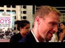 Brian Littrell at BACKSTREET BOYS: SHOW 'EM WHAT YOU'RE MADE OF premiere at ArcLight Hollywood.