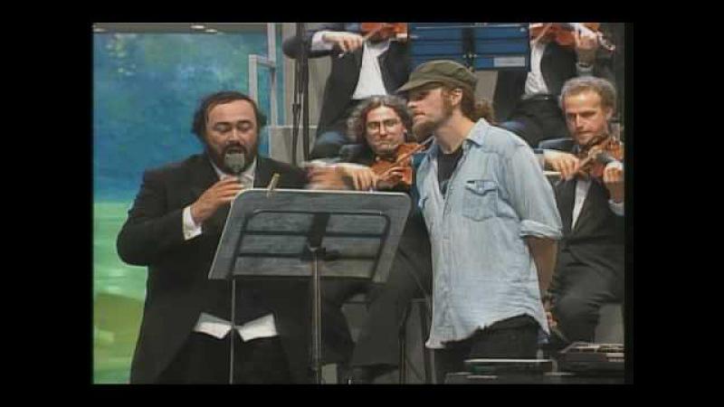 Nessun Dorma (Live). Pavarotti, Michael Bolton Friends together for children Bosnia (HQ)
