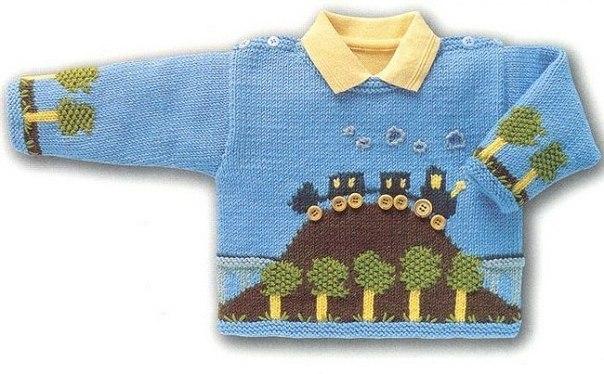Пуловер для мальчика (4 фото) - картинка