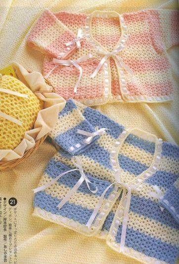 Кофточка для крошки (2 фото) - картинка