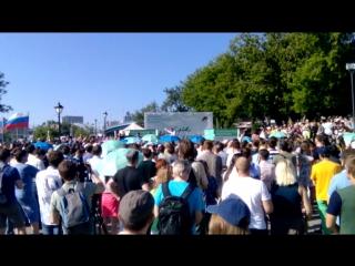 Навальный и ватник #Новосибирск_решает