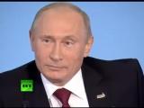 Путин В.В. Не полетели только слабые журавли... 2012 г. Телеканал