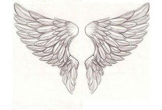 Крыла ангела тату 79