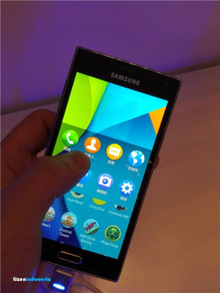 Samsung Z с Tizen 2.3 на Tizen Developer Summit 2014 в Шанхае