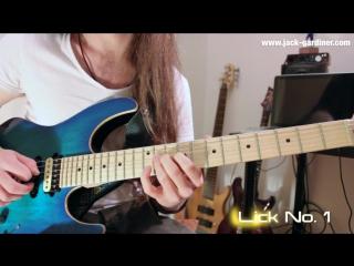 Jack Gardiner - 20 Technique Heavy Rock Fusion Licks