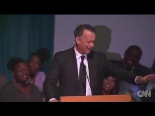 Речь Тома Хэнкса на поминальной службе по Майклу Дункану