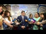 Олег Сорокин ответил на вопросы журналистов, прокомментировов отставку Олега Кондрашова