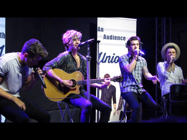An Audience With Union J - Marvin Gaye (Cover) - Liverpool 2015