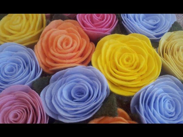 DIY Розочки из кухонных салфеток