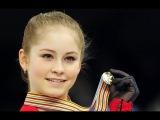 Выступление Юлии Липницкой российской фигуристки в сочи.