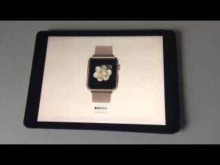 Apple Watch Vogue video Apple запустила рекламу Apple Watch на страницах журнала Vogue