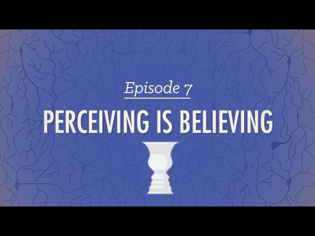 Perceiving is Believing - Crash Course Psychology 7