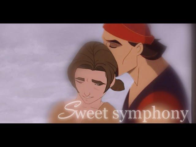 Sweet symphony [Sinbad/Jim] Non/Disney slash crossover