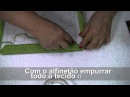 TUTORIAL PATCHWORK EMBUTIDO - PORTA CHAVES