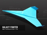 Let's make the BEST paper airplane in the world - Flies over 130ft | Galaxy Fighter ( Tri Dang )