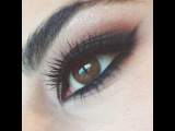 "Daniella Monet on Instagram: ""NEW blog post - winged liner & smokey eye look by @makeupbylusine - { link in profile }"""