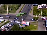 В Красноярске автобус сбил женщину