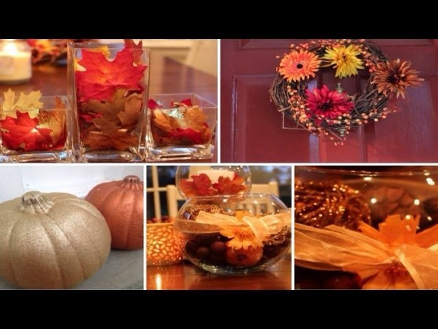 WonderFALL series: DIY Fall Decorations