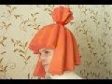 Фиксики. Как сделать шапочку-парик для костюма Симки.