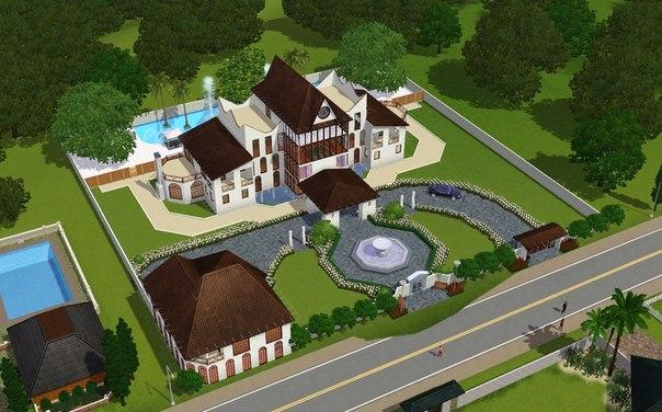 Проекты Домов для игры Sims 2