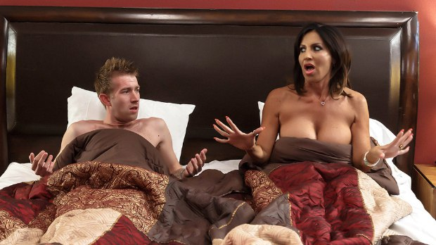 Brazzers - Overnight With Stepmom: Part One