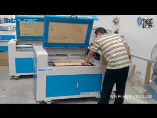 SIGN-9060  Лазерный гравер и резак