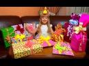 Распаковка подарков на мой День Рождения OPENING BIRTHDAY PRESENTS