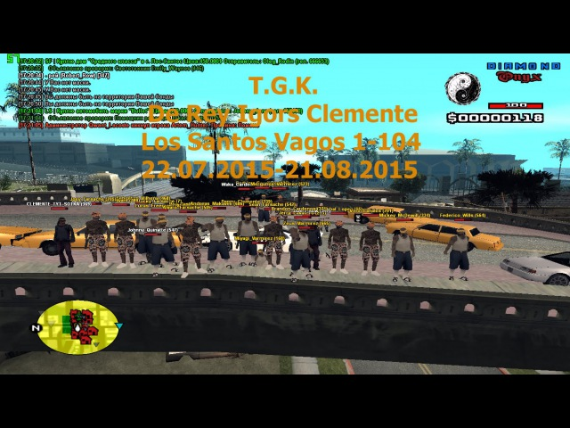 T.G.K. LSV 1-104 De Rey Igors (Danny) Clemente 22.07.2015-21.08.2015