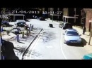 Бешеная собака нападает на ребенка в Лондоне Rabid dog attacks a child in London CCTV Footage