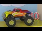 Мультфильм про машинки и паровозики. Учим цифры с паровозиком Максом от 1 до 10