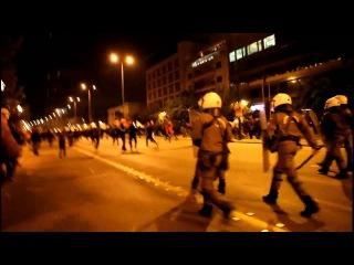 Anarchy in Greece : Επεισοδια Αθηνα 17Ν 2014 Πολυτεχνειο.